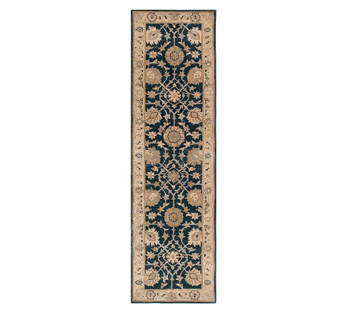 Blue Multi Madeline Persian Rug Pottery Barn