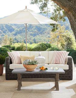 Patio Furniture, Outdoor Furniture & Outdoor Decor  Pottery Barn