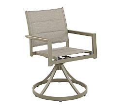 outdoor swivel patio chairs   Pottery Barn