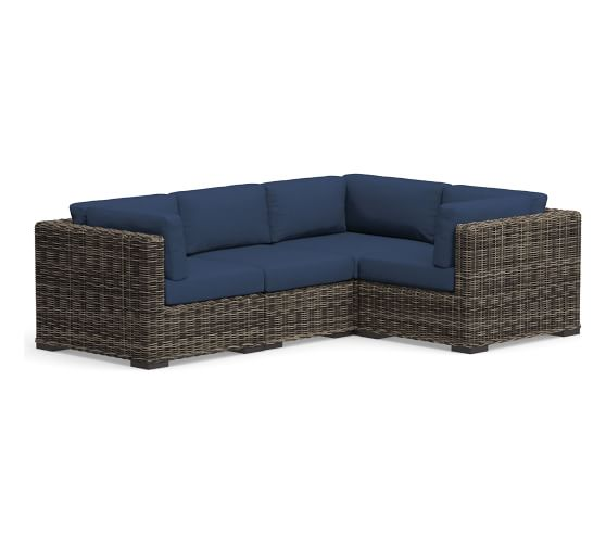 Sectional View All Outdoor Furniture Pottery Barn