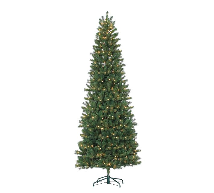 7.5ft/9.5ft Pre-Lit Montgomery Pine Artificial Christmas ...