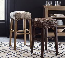 Bar Stools And High Table, Seagrass Counter Stools Pottery Barn