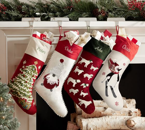 Stockings Amp Tree Skirts Christmas Shop Pottery Barn