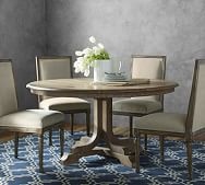 Pedestal Tables Kitchen Amp Dining Tables Pottery Barn