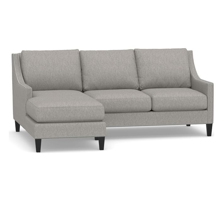 Pasadena Upholstered Right Arm Sofa With Chaise Sectional