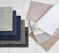 Bath Mats Bathroom Rugs Pottery Barn