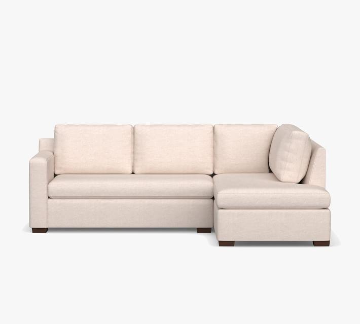 Shasta Square Arm Upholstered Return Bumper Sectional
