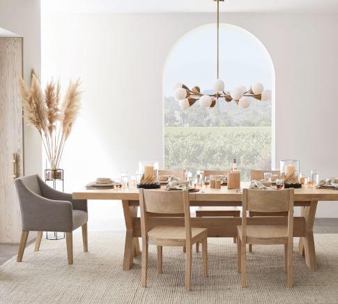 Modern Farmhouse Menlo Dining Room