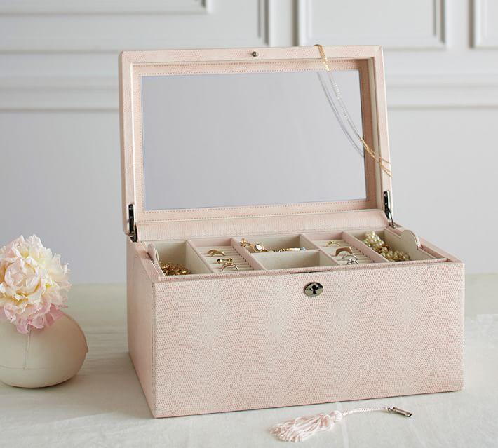 Mckenna Personalized Jewelry Box - Large | Pottery Barn