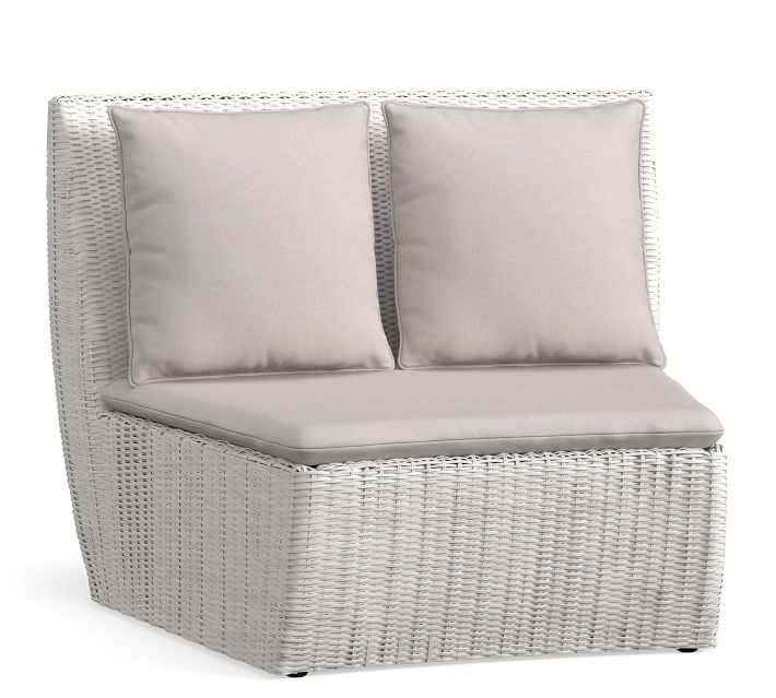 Build Your Own Torrey All Weather Wicker Curved