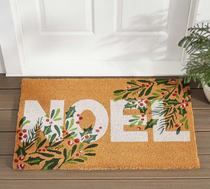 Noel Doormat Pottery Barn