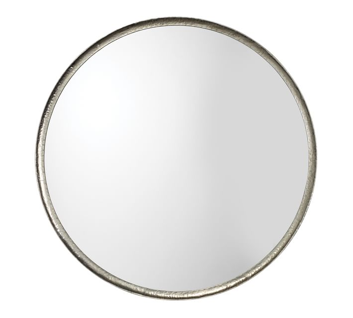 Refined Round Mirrors Pottery Barn