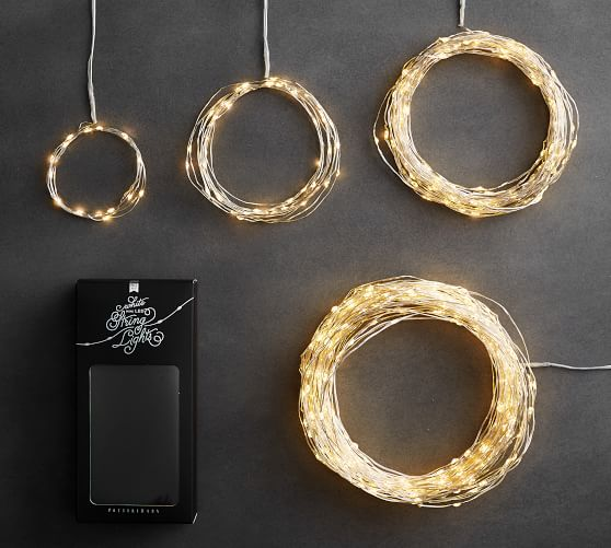 Mini Led String Lights Pottery Barn