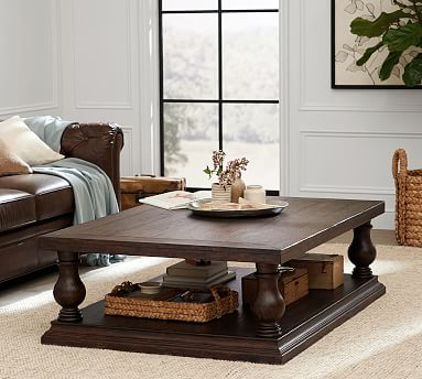 Lorraine 60 Quot Coffee Table Pottery Barn