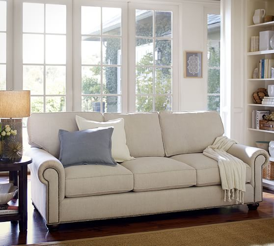 Webster Fabric Sofa Pottery Barn