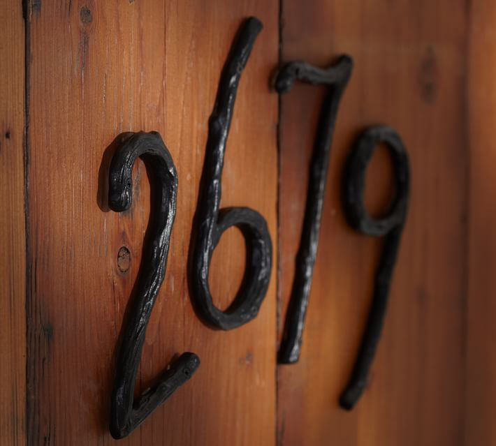 Branch House Numbers Pottery Barn