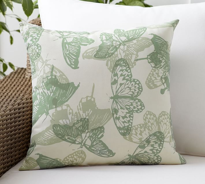 Butterfly Indoor Outdoor Pillow Pottery Barn