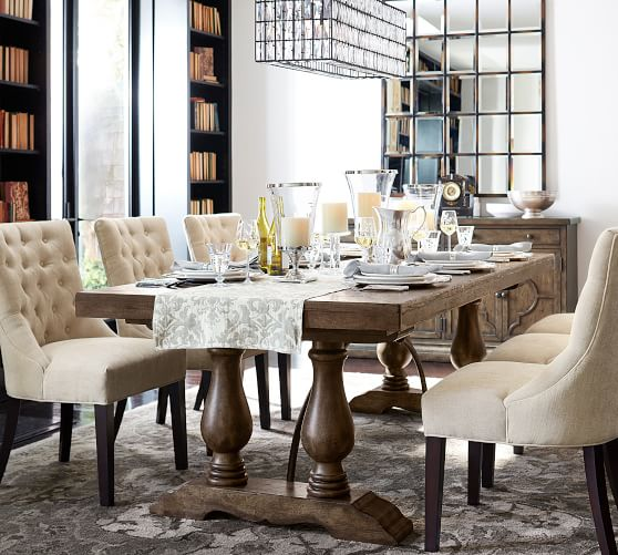 Lorraine Extending Dining Table Pottery Barn