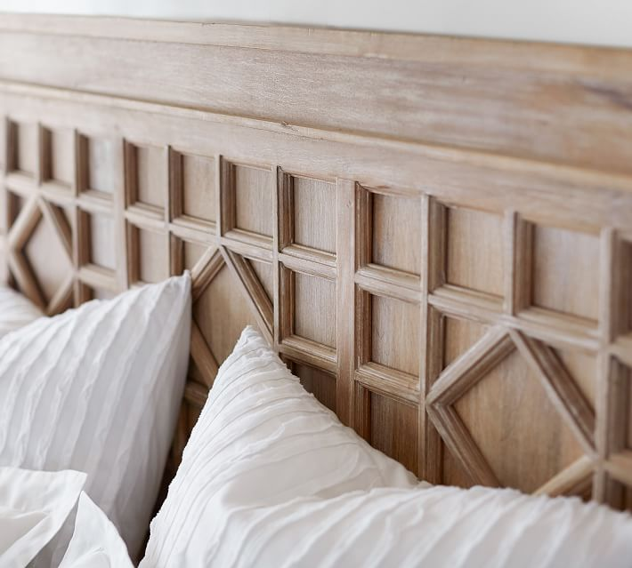 Luella Bed Wooden Beds Pottery Barn