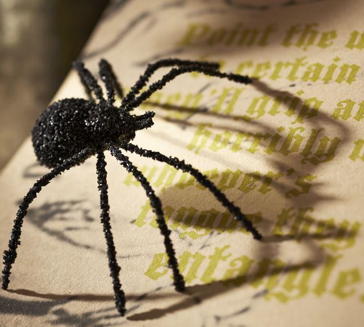 one for Eddie Glitter-spider-vase-filler-o