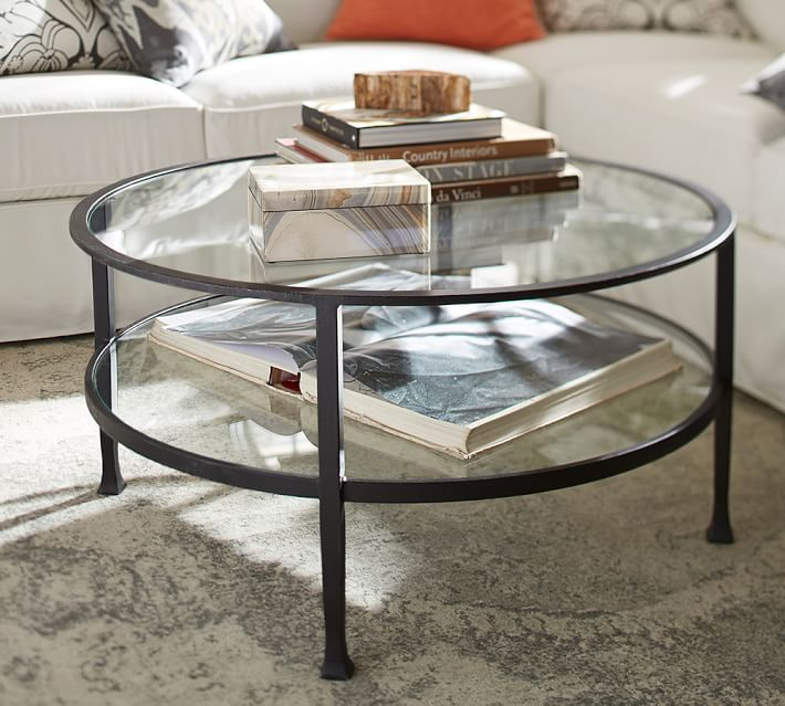Tanner 36 Round Coffee Table Pottery Barn