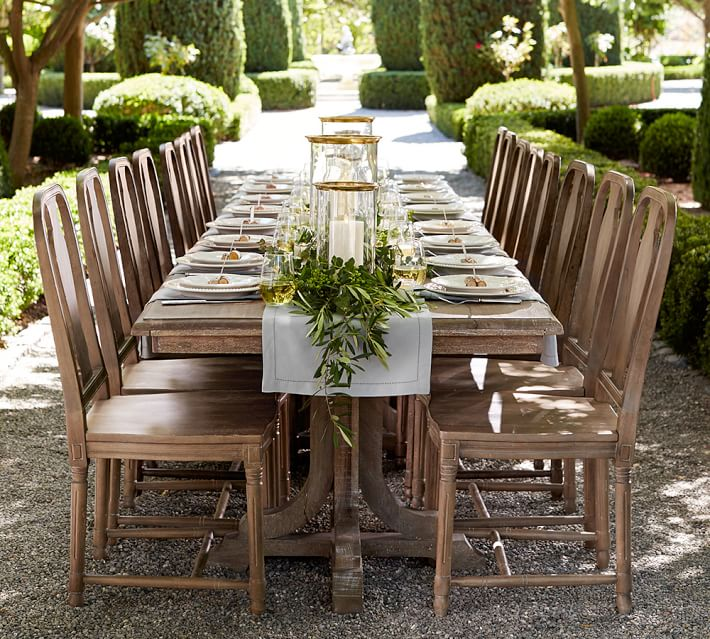 Linden Extending Dining Table Pottery Barn