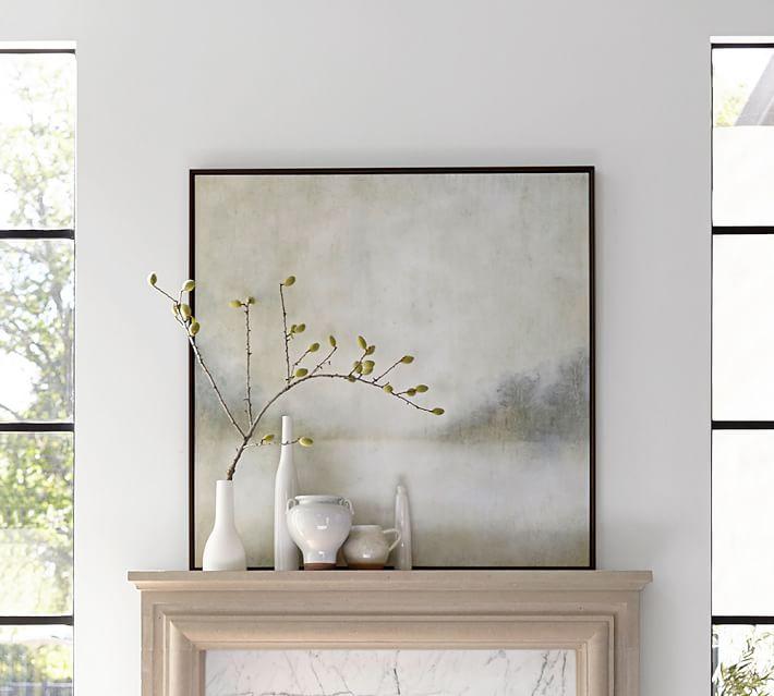 Cool Landscape Framed Canvas Wall Art | Pottery Barn