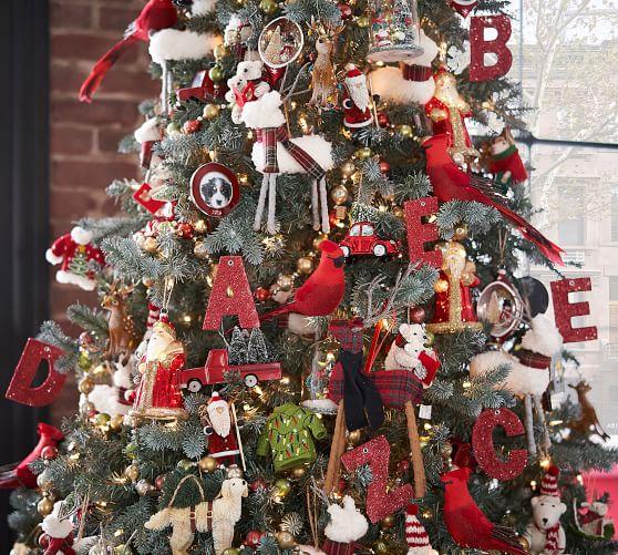 Red Cardinal Clip Christmas Ornament Pottery Barn