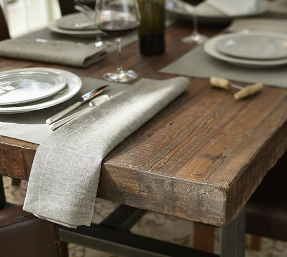 Griffin Reclaimed Wood Dining Table Pottery Barn