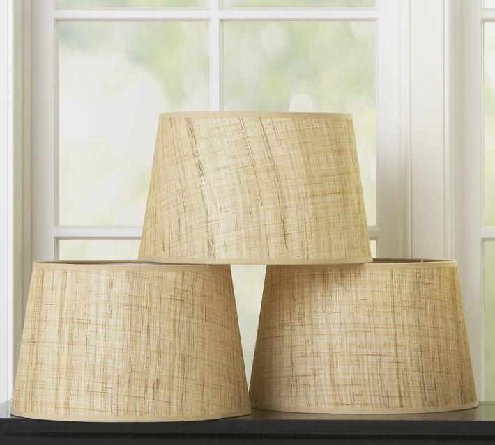 Natural Fiber Tapered Drum Lamp Shade Pottery Barn