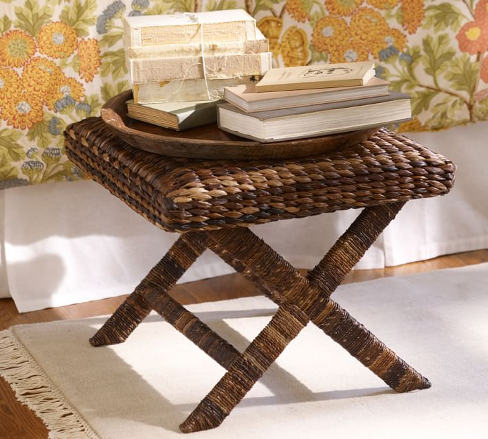 Bar Stools And High Table, Seagrass Stool Pottery Barn