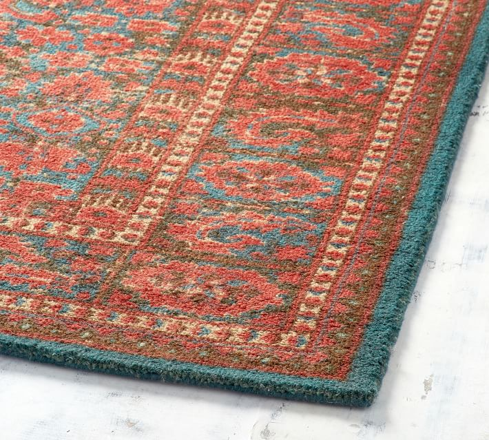 Multi Marguerite Printed Rug Patterned Rugs Pottery Barn