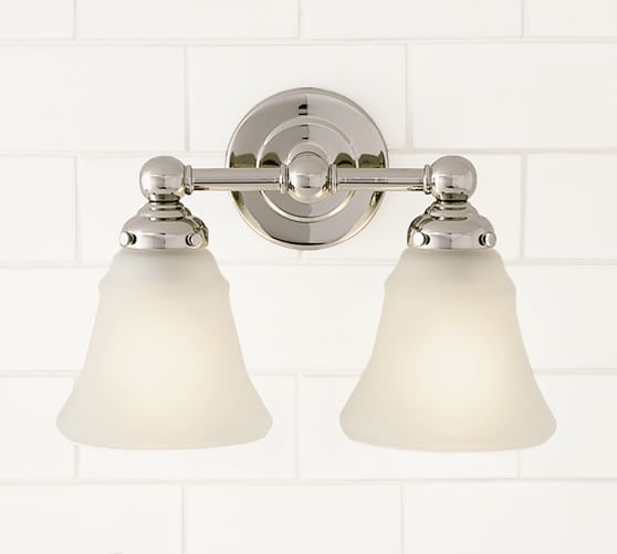 Double Sconce Sconces Pottery Barn
