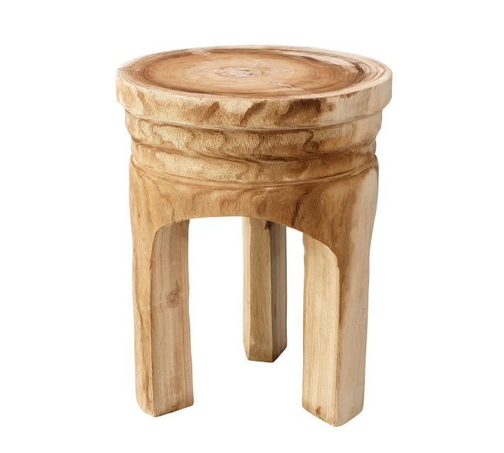 Roselle Round Accent Stool