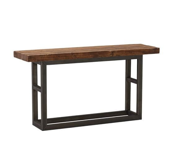 Griffin 68 Reclaimed Wood Console Table Pottery Barn