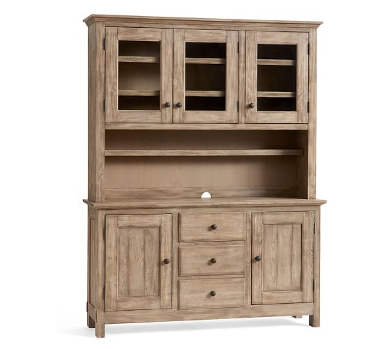Benchwright Buffet Table Hutch Pottery Barn