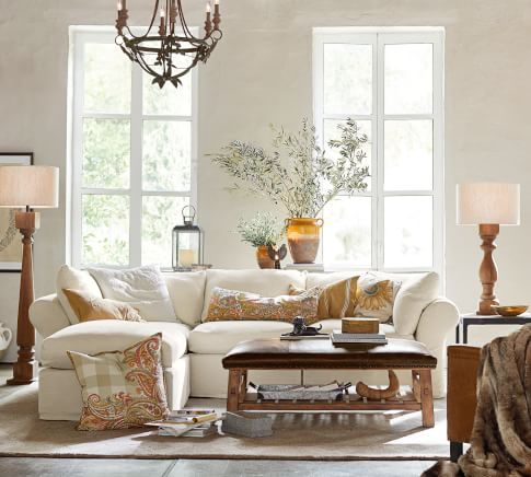 PB Air Sectional Classic Living Room