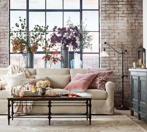 York Parquet Living Room