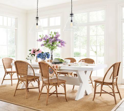 Modern Farmhouse Parisian Dining Room