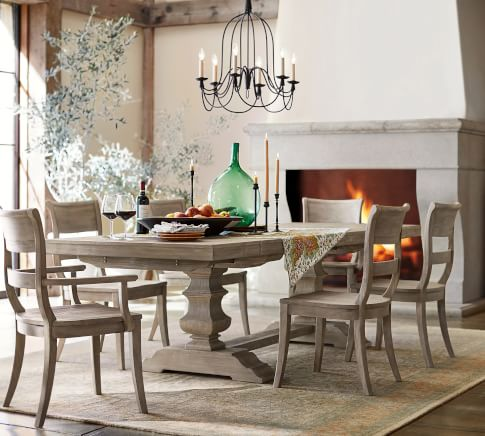 Banks Gray Classic Dining Room