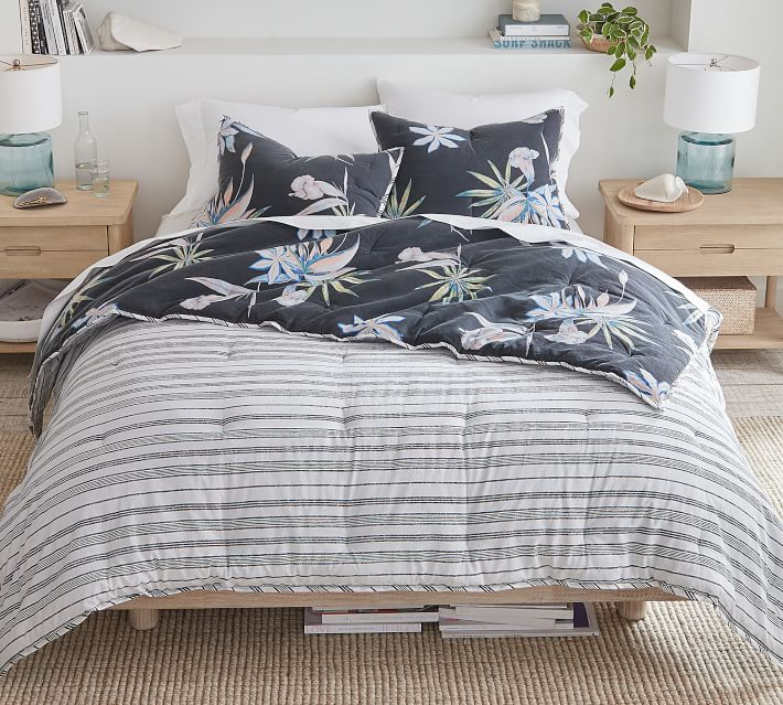 Roxy Sun Washed Island Life Reversible Comforter Amp Shams