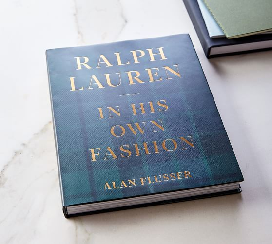 Ralph Lauren: In His Own Fashion Coffee Table Book
