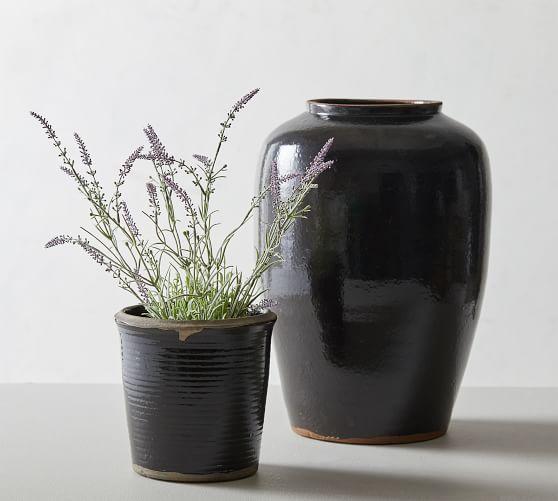 Burke Ceramic Vase and Planter