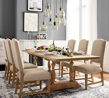 Parkmore Reclaimed Wood Extending Dining Table Pottery Barn