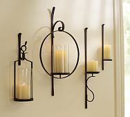 Rustic Wall Sconces Pottery Barn