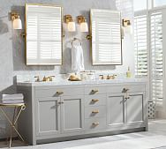 Bathroom Mirrors Bathroom Vanity Mirrors Wall Mirrors Pottery Barn