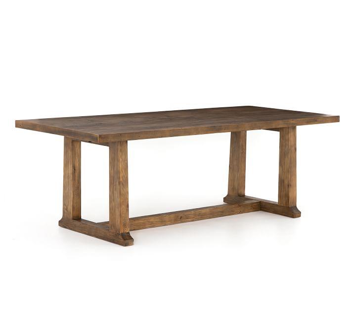 Jade Reclaimed Wood Dining Table Pottery Barn