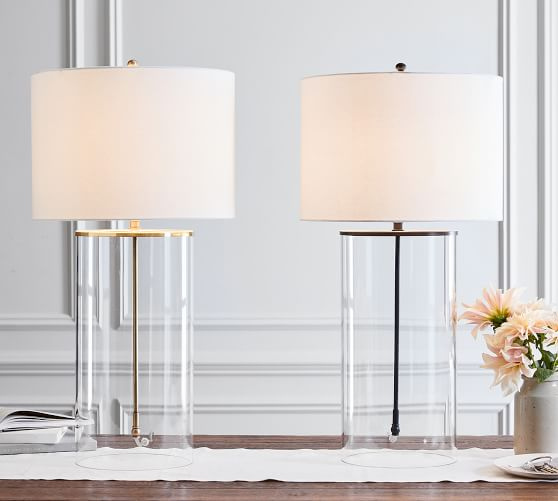 Aria Glass Table Lamp