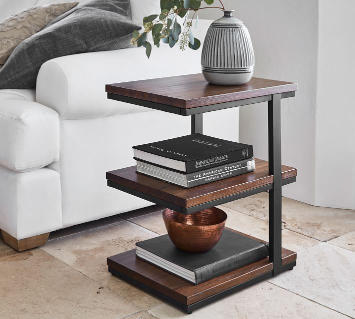 Allen 19 Tiered End Table Pottery Barn
