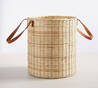 Austin Tote Basket, Natural